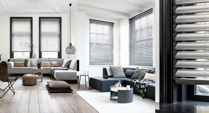 Bece raamdecoratie / Louis Tapis Bussum