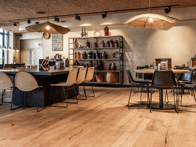 Cinzento houten vloer louis tapis bussum