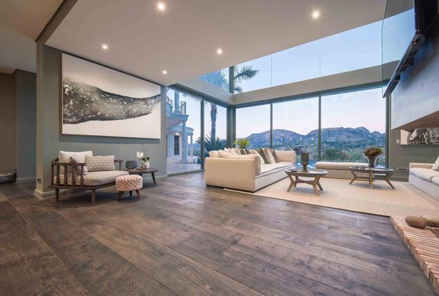 Cinzento 3-laags massief houten vloeren / Louis Tapis Bussum