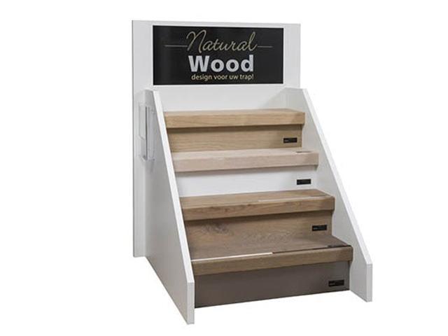 Natural Wood traprenovatie / Louis Tapis Bussum