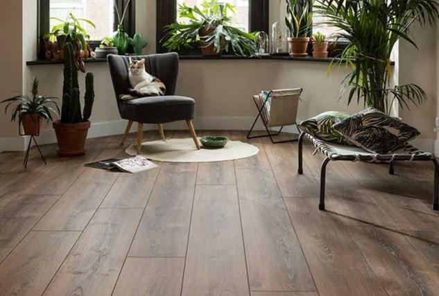 Douwe Dekker laminaatvloer / Louis Tapis Bussum