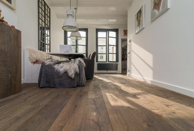 Raftwood houten vloer / Louis Tapis Bussum