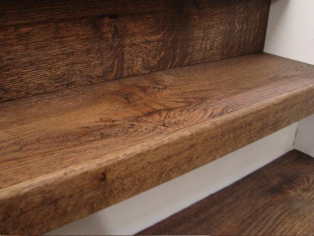 Raftwood trap renoveren / Louis Tapis Bussum