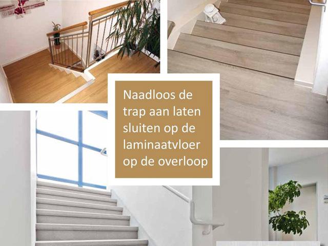 Trenovo dichte trap renoveren / Louis Tapis Bussum